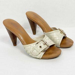 Antonio Melani Mule Heels Sandals